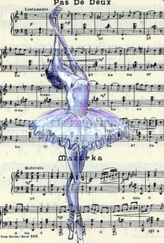 Dance. Love how they put it on sheet music, I'm going to try that...
