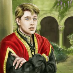 """Son of a fellow bannerman who proved to be a useful kind of trouble."" Male intrigue SS"