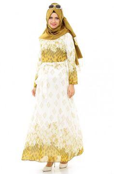 Aybqe Elbise-Haki
