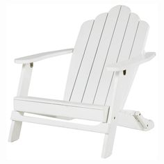Patio by Jamie Durie Adrion deck chair white - Big W