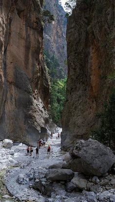 Samaria Gorge - Enjoy a guided 16km hike through the longest and most impressive of Europe's limestone gorges, a magnificent example of Crete's many gorges, stretching from the White Mountains down to the Libyan sea | Crete, Greece.