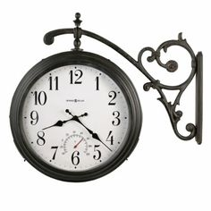 HOME DECOR – CLOCKS – Luis Outdoor Wall Clock by Howard Miller
