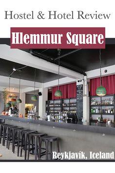 The Trekking Cat - Hostel Review: Hlemmur Square in Reykjavik, Iceland  #reykjavik #iceland #hostel