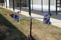 Weather Fun!!! Homemade wind vanes