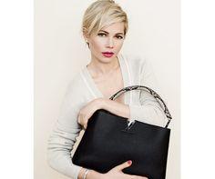 Michelle Williams Stars in New Louis Vuitton Campaign - Louis Vuitton Spring 2014 Campaign Photos - Elle