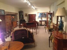 Some of our stock at Walton House Antiques in Mere, Wiltshire