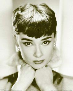 Poster Audrey Hepburn Schauspielerin Frühstück Tiffany