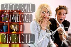 Shock Ball Challenge With Pixie Lott (+playlist)