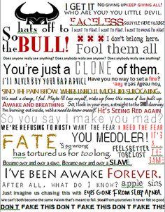 These lyrics <3 Chevelle always