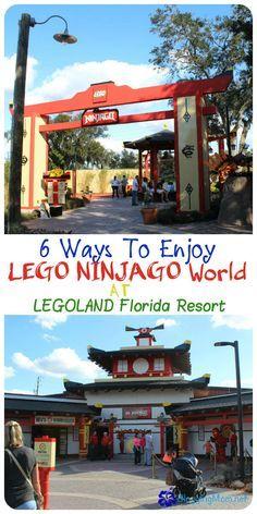 6 Ways To Enjoy LEGO NINJAGO World At LEGOLAND Florida Resort - Blogging Mom