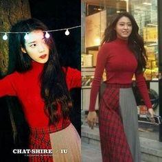 Who Wore It Better?!  IU X AOA Seolhyun 👉 IU  #WhoWoreItBetter #iu #seolhyun #aoa #kpop