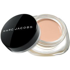 Marc Jacobs Beauty Re(Marc)able Full Cover Concealer found on Polyvore featuring beauty products, makeup, face makeup, concealer, fillers, dark circle concealer and marc jacobs