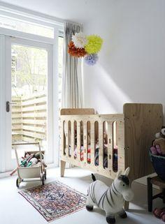 Nursery with PHE's crib