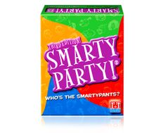 Reveal who among your friends really IS the Smartypants! Name a popular 90's TV show, a handyman's tool, a stinky cheese ... for a chance to wear the Smartypants! Ages 10+