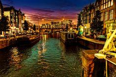 Amsterdam by Night by Martin Jaszkowiak on 500px