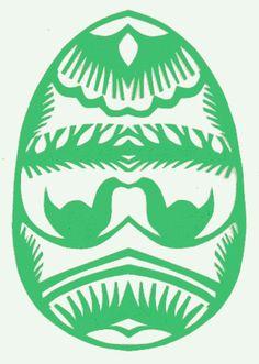 Wycinanki Egg