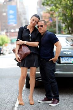 On W. 36th Street – Scott + Garance... When they were together