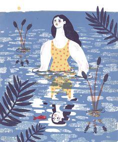 Irene Rinaldi | Water, Water, everywhere. - Oregon quarterly on Behance