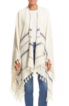 Frame Denim 'Le Poncho' Blanket Wrap available at #Nordstrom