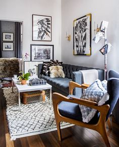 A great small pied a terre made to look bigger. ~  Small Space Seem Bigger (PHOTOS)