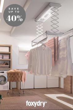 Laundry Room Drying Rack, Drying Room, Clothes Drying Racks, Laundry Room Storage, Laundry Room Design, Convertible Furniture, Modern Laundry Rooms, Laundry Room Inspiration, Laundry Room Remodel