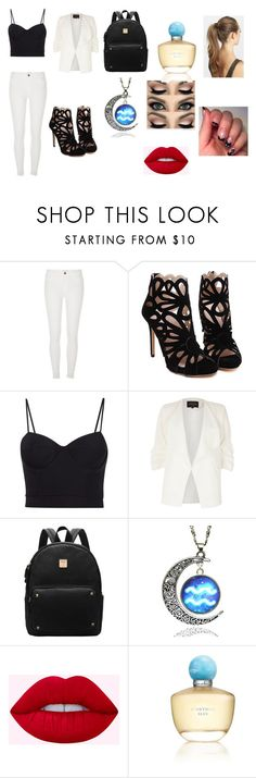 """""""Visiting S.T.A.R Labs"""" by alexistorrez on Polyvore featuring River Island, Alexander Wang, Oscar de la Renta and France Luxe"""