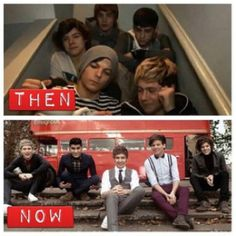 They're so much more put together now........ I still love them TO DEATH, but I seriously do miss the boys on the stairs.