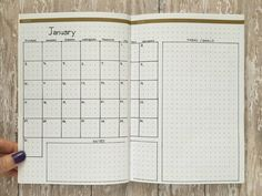 Monthly Layout Idea - Mini Calandar  From PageFlutter