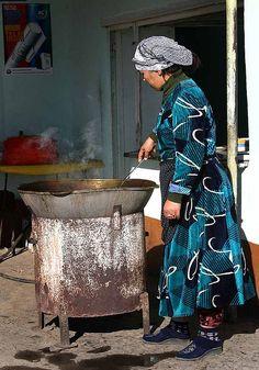 Street Food Vendor, Uzbekistan