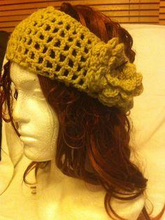 Crotchet headband