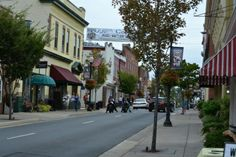 Center Street ~ Old Town Manassas, VA