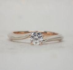 Mokumegane Wedding Ring 杢目金の婚約指輪