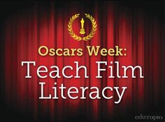 Take a look at these 7 resources to teach film literacy.