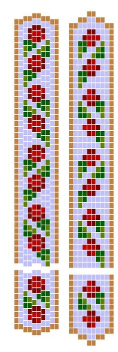 Free Loom Bead Patterns | related articles topical index patterns beadwork pumpkins and stripes ...