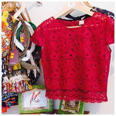 Blusa de encaje - Maia Clothes
