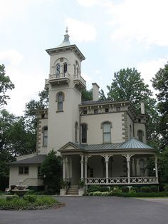 Promont Mansion, Milford, Ohio by Dan Stiver
