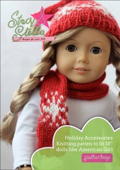 Holiday Accessoires Knitting Pattern