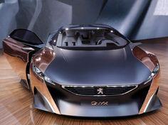 Onyx é o carro conceitual da Peugeot no Salão de Paris