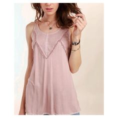 This rib knit tank is so soft and drapes beautifully on the body.  A fabulous basic with fun details.