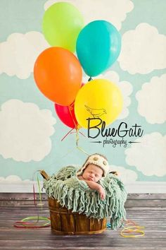 This Pixar pal: Disney inspired newborn photography- Up!