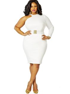 Monif c white dress lo back