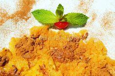A traditional sweet (encharcada) of Alentejo. Portugal