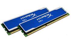 Kingston Hyper X Blu 8 GB (2x4GB Modules) 1600MHz DDR3 Non-ECC CL9 XMP Desktop Memory - KHX1600C9D3B1K2/8GX