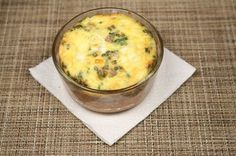 Breakfast Casserole. The easy way to make Low Carb breakfast in the morning.