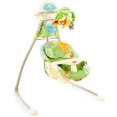Fisher-price - Rainforest Open-top Cradle Swing