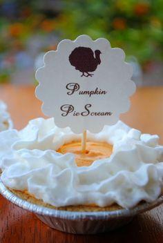 Pumpkin PieScream- Easiest Thanksgiving Dessert Ever