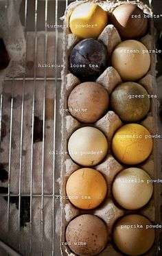 Have a nice weekend you all ! For dyeing Easter eggs with natural pigments. Weblog by Marion Pannekoek jewelry designer and maker, The Netherlands