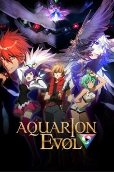 'Aquarion EVOL' Anime Gets Crunchyroll Distribution