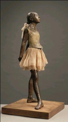 Petite danseuse - Edgar Degas in museum Boymans