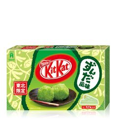 Zunda Kit-Kat, from Sendai...